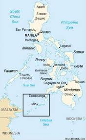 Map of Philippines and Jolo,Sulu