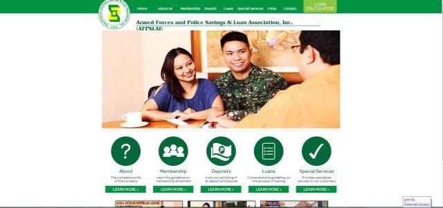 AFPSLAI new website